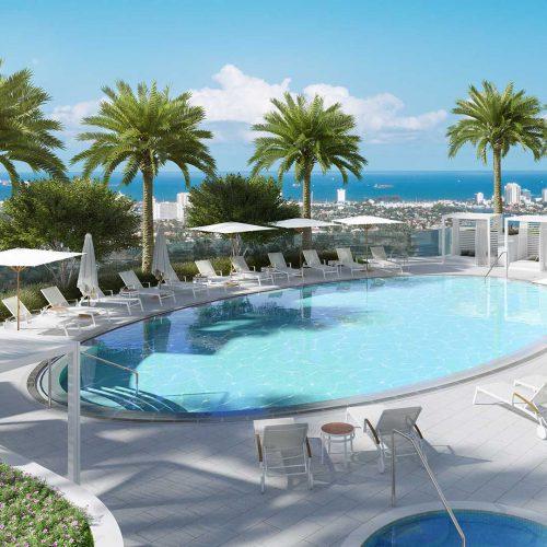 Icon Las Olas Pool Deck