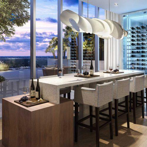 Icon Las Olas Wine Room